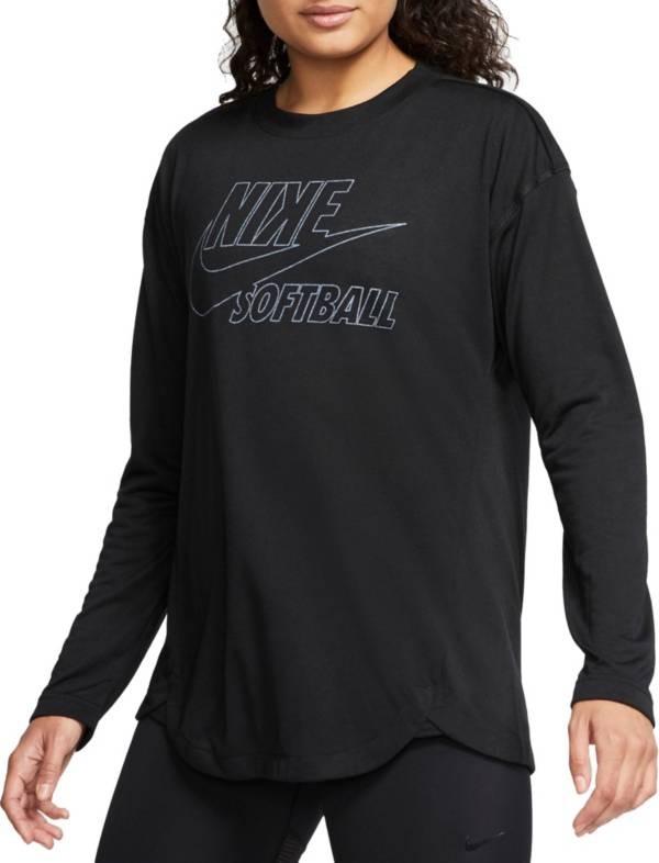 Nike Women's Breathe Long-Sleeve Softball Top product image
