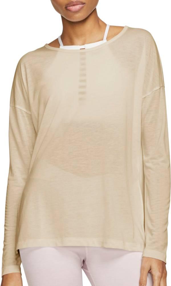 Nike Women's Yoga Long Sleeve Shirt product image