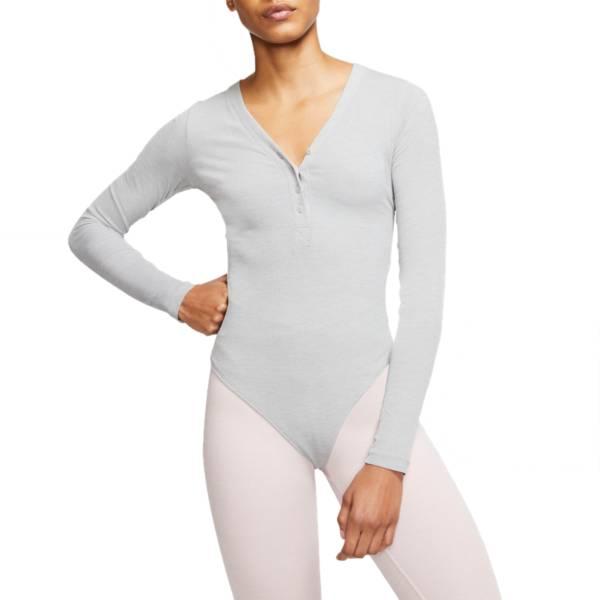 Nike Women's Yoga Luxe Henley Long Sleeve Bodysuit product image