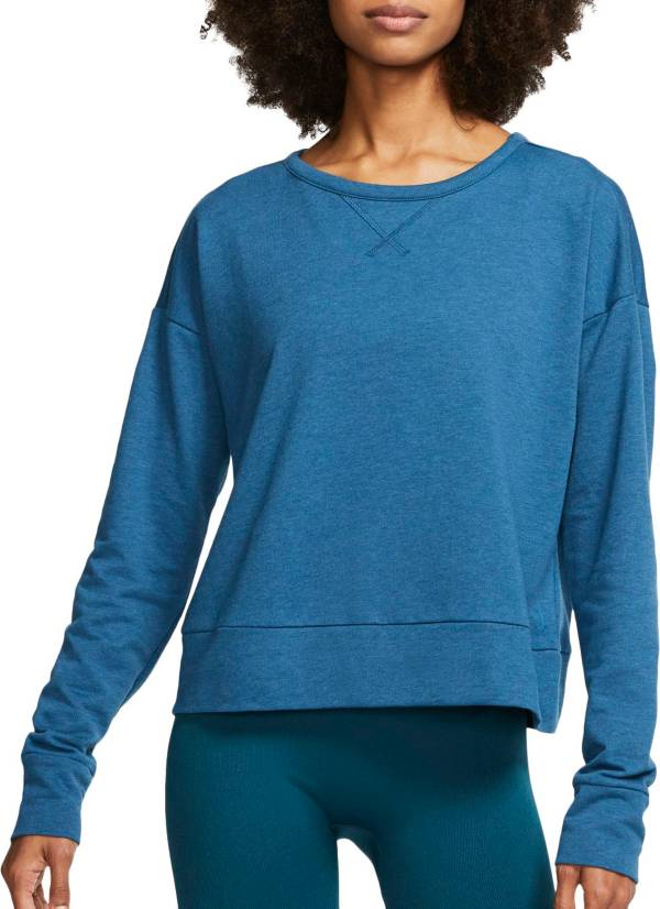 Nike Women's Yoga Long Sleeve Open Back Training Top product image