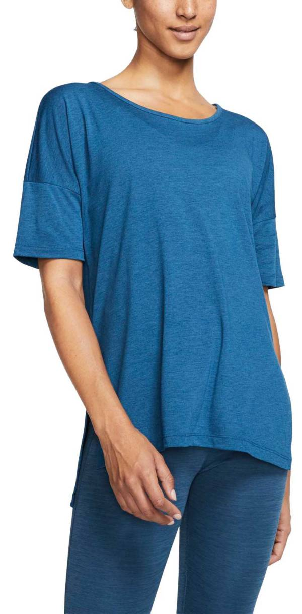Nike Women's Dri-FIT Short Sleeve Yoga Training Top product image