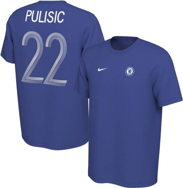 Nike Youth Chelsea FC Christian Pulisic #22 Blue Player Tee product image
