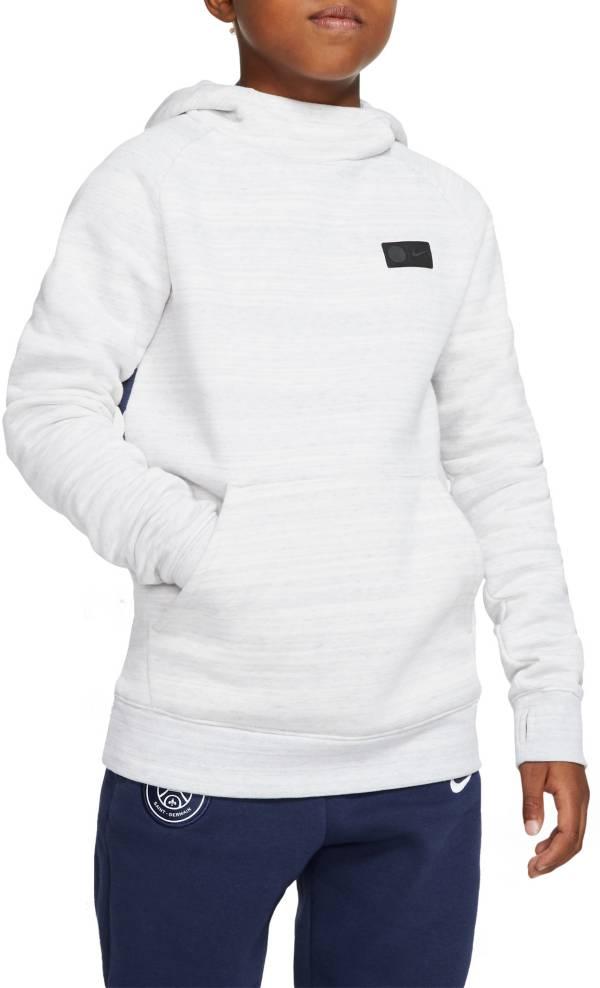 Nike Youth Paris Saint-Germain Team White Pullover Hoodie product image