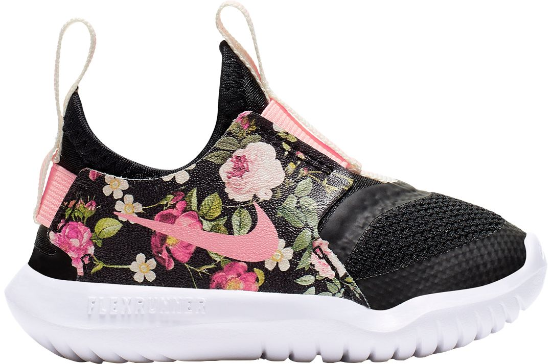 acc53ff64a707 Nike Toddler Flex Runner Vintage Floral Running Shoes