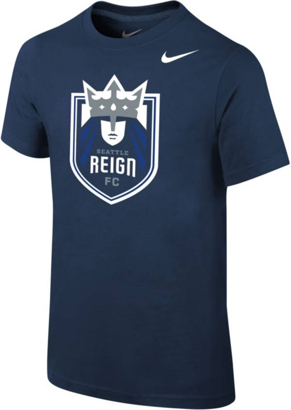 Nike Youth Seattle Reign Primary Logo Navy T-Shirt product image