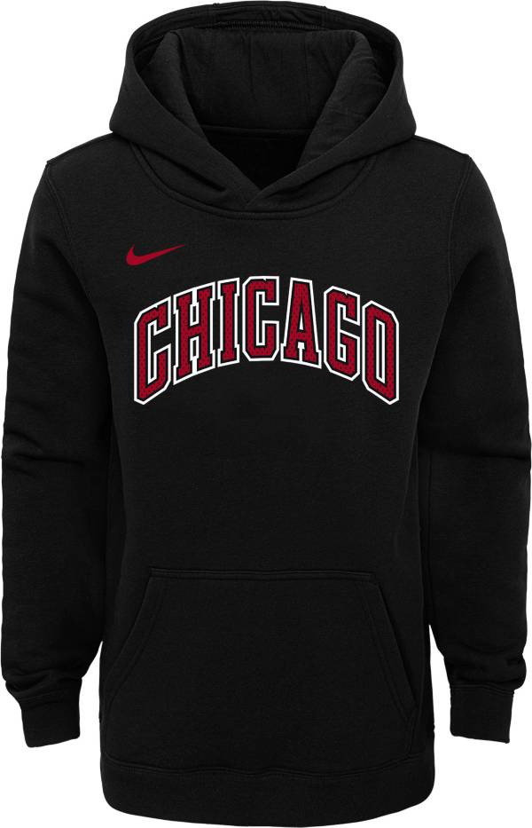 Nike Youth Chicago Bulls Black Statement Hoodie product image