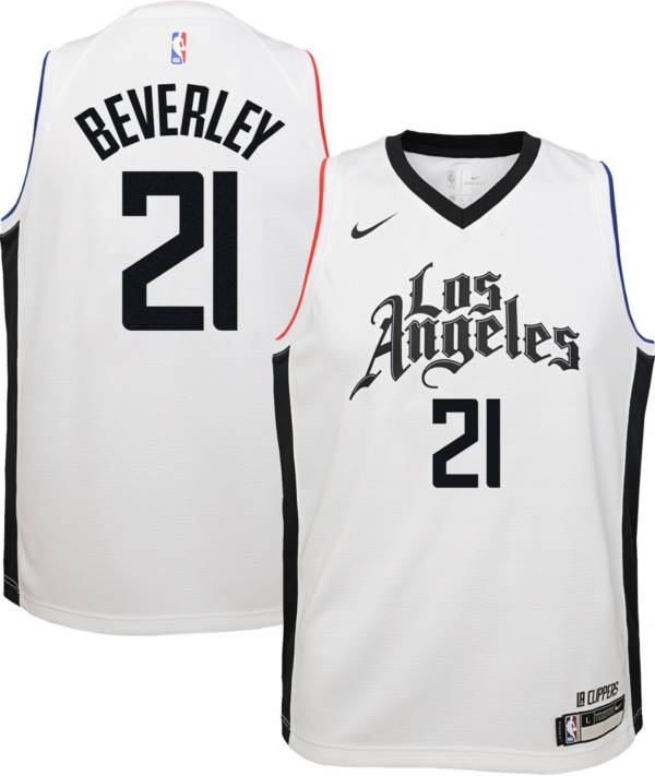 Nike Youth Los Angeles Clippers Patrick Beverley Dri Fit City Edition Swingman Jersey Dick S Sporting Goods