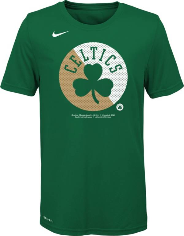 Nike Youth Boston Celtics Dri-FIT Split Logo T-Shirt product image