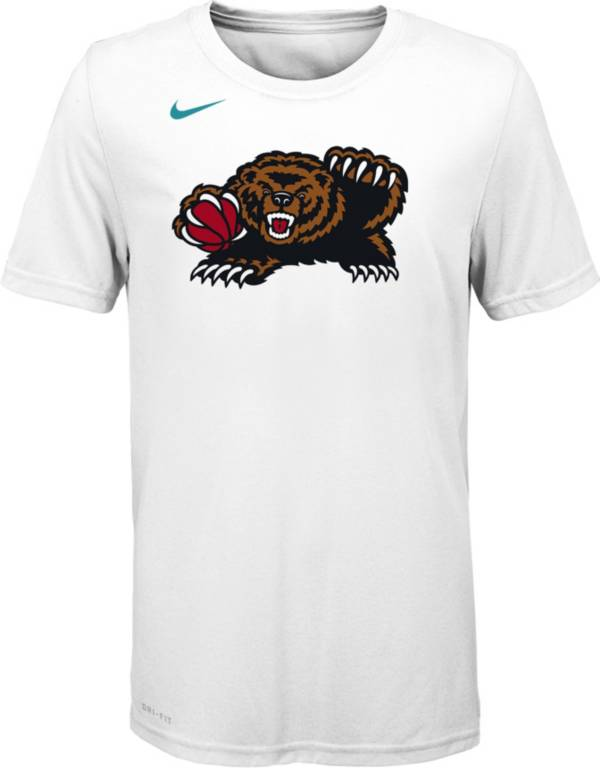 Nike Youth Memphis Grizzlies Dri-FIT White Hardwood Classic T-Shirt product image