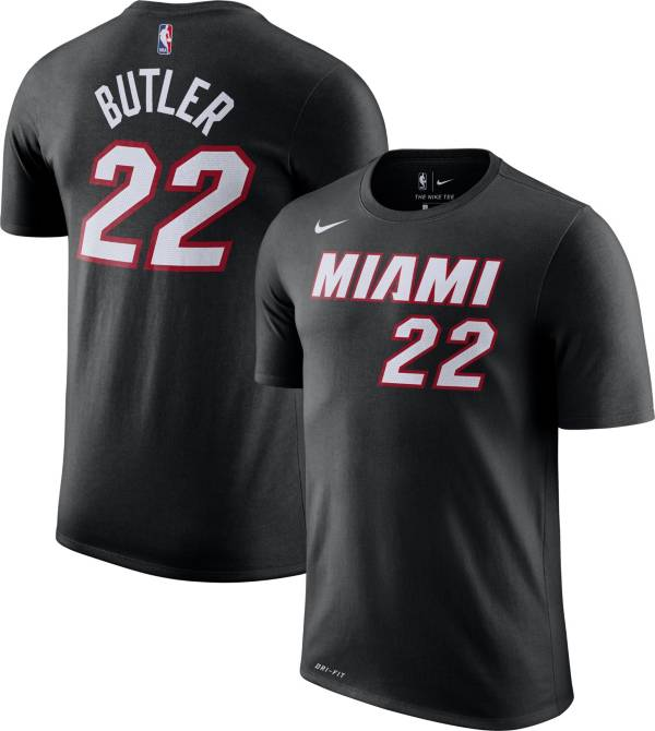 Nike Youth Miami Heat Jimmy Butler #22 Dri-FIT Black T-Shirt product image