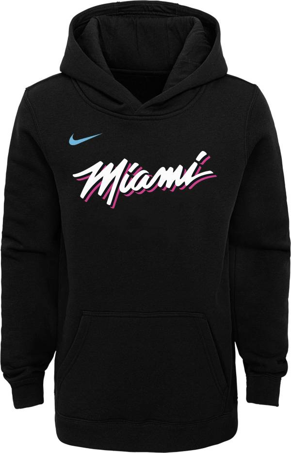 Nike Youth Miami Heat Dri-FIT City Edition Pullover Hoodie product image