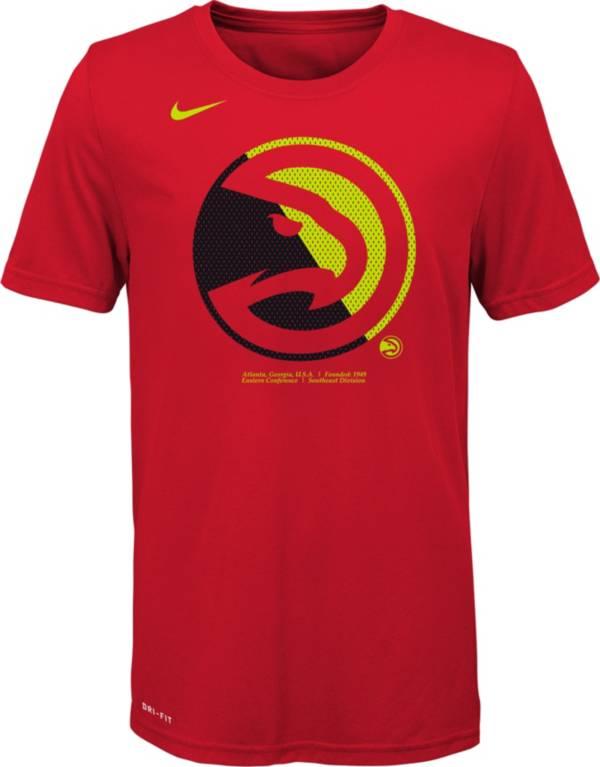 Nike Youth Atlanta Hawks Dri-FIT Split Logo T-Shirt product image
