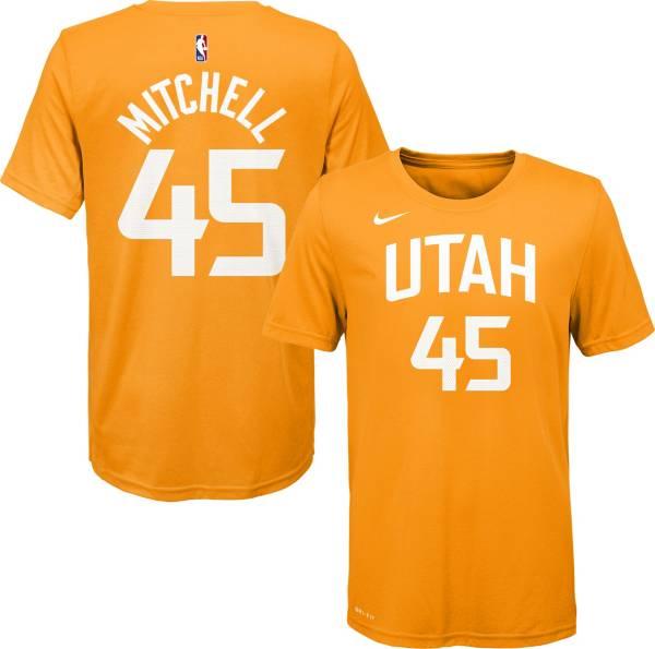 Nike Youth Utah Jazz Donovan Mitchell Dri-FIT City Edition T-Shirt product image