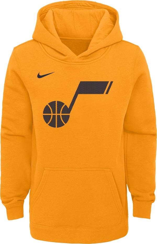 Nike Youth Utah Jazz Yellow Statement Hoodie product image