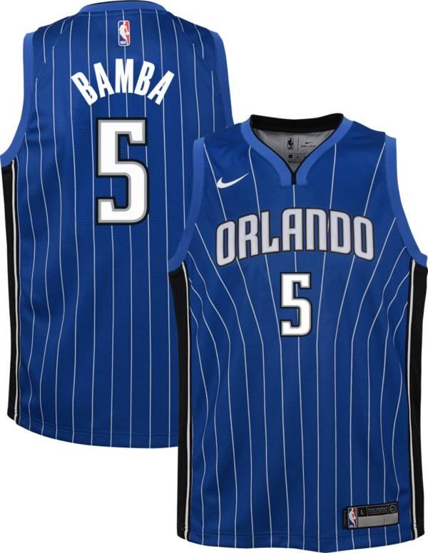 Nike Youth Orlando Magic Mohamed Bamba #5 Royal Dri-FIT Swingman Jersey product image