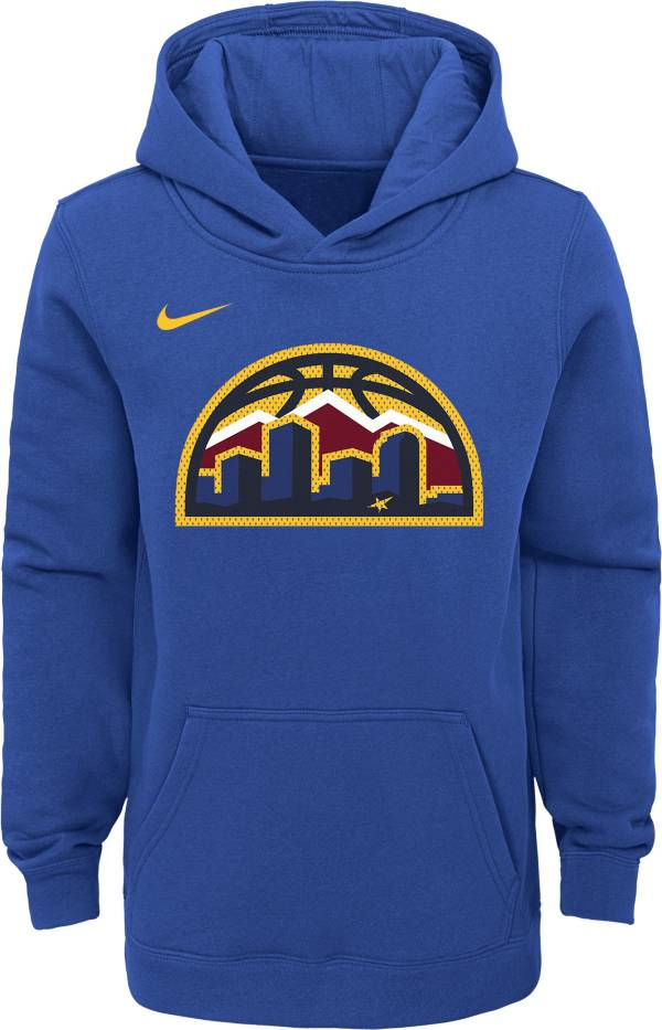 Nike Youth Denver Nuggets Blue Statement Hoodie product image