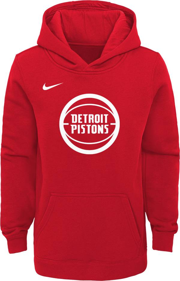 Nike Youth Detroit Pistons Dri-FIT City Edition Pullover Hoodie product image