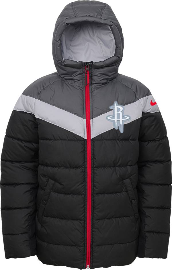 Nike Youth Houston Rockets Puffer Full-Zip Jacket product image