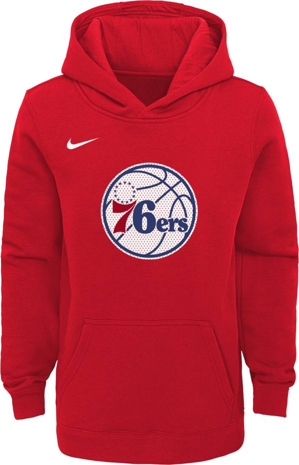 Nike Youth Philadelphia 76ers Red Statement Hoodie product image