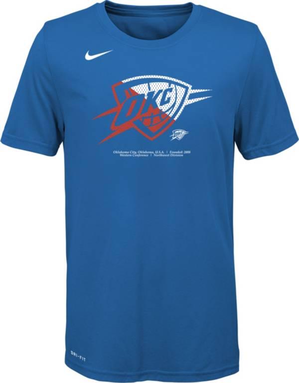 Nike Youth Oklahoma City Thunder Dri-FIT Split Logo T-Shirt product image
