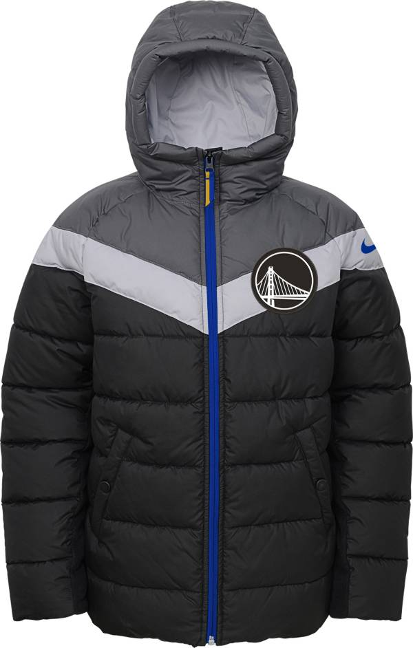 Nike Youth Golden State Warriors Puffer Full-Zip Jacket product image