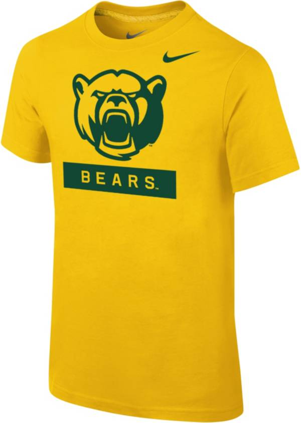 Nike Youth Baylor Bears Gold Core Cotton T-Shirt product image
