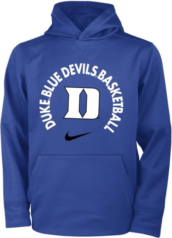 Nike Youth Duke Blue Devils Duke Blue Therma Basketball Hoodie product image