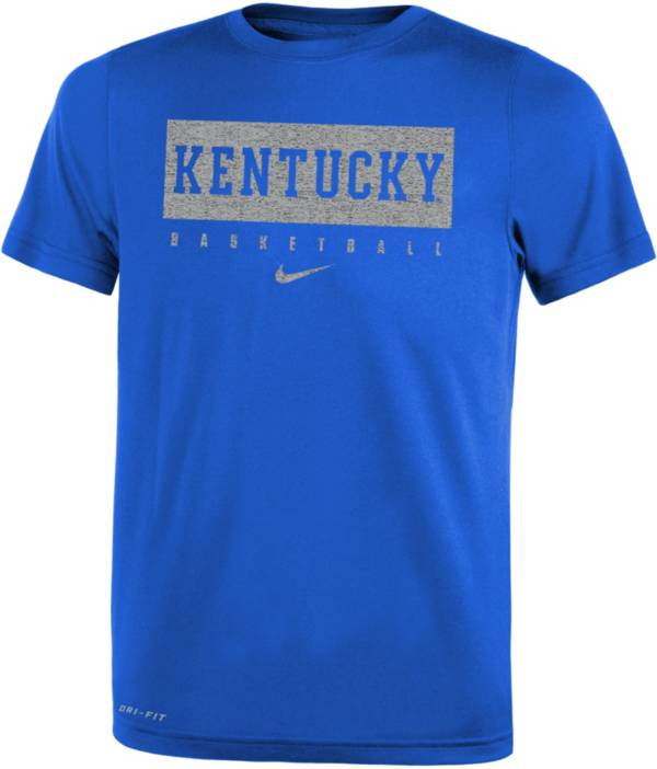Nike Youth Kentucky Wildcats Blue Basketball Legend Practice T-Shirt product image