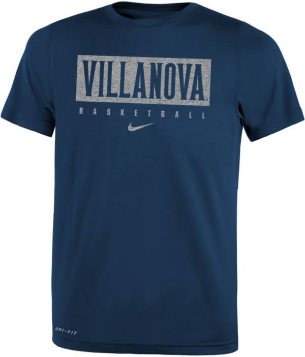 Nike Youth Villanova Wildcats Navy Basketball Legend Practice T-Shirt product image