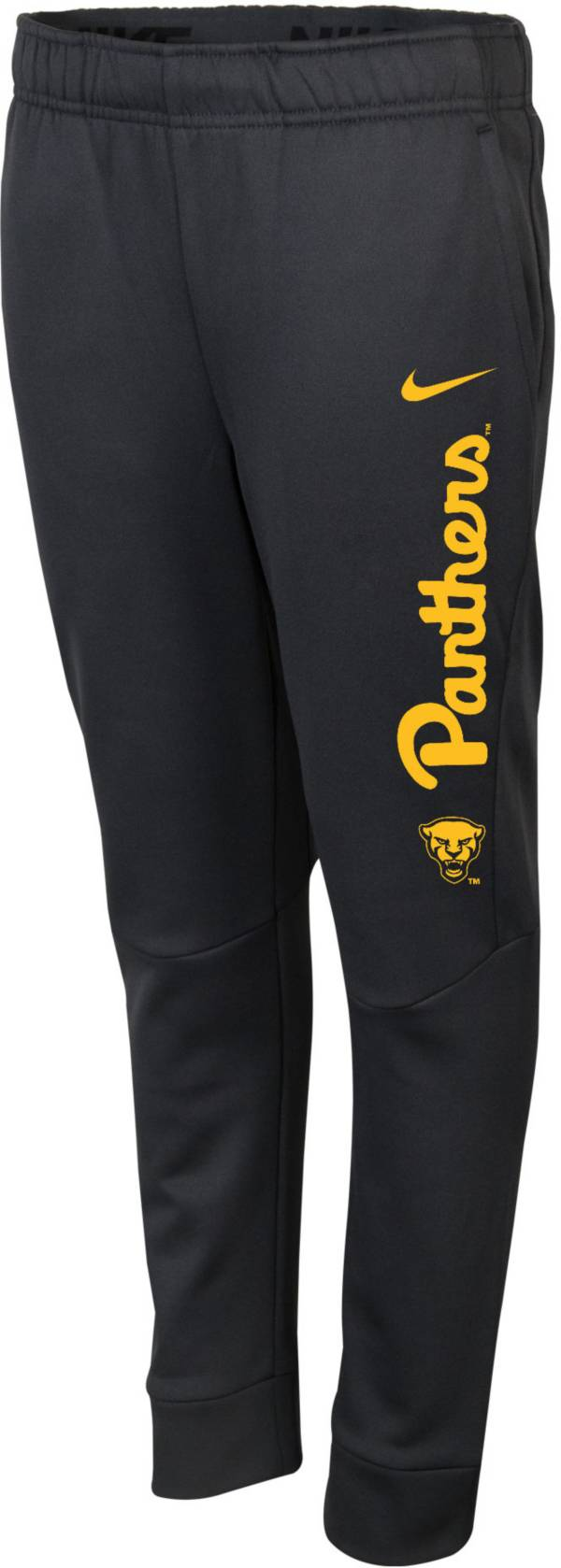 Nike Youth Pitt Panthers Grey Therma-FIT Tapered Pants product image