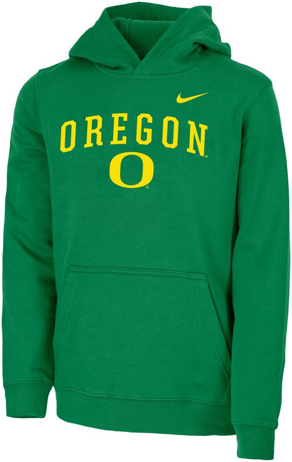 Nike Youth Oregon Ducks Green Club Fleece Pullover Hoodie product image