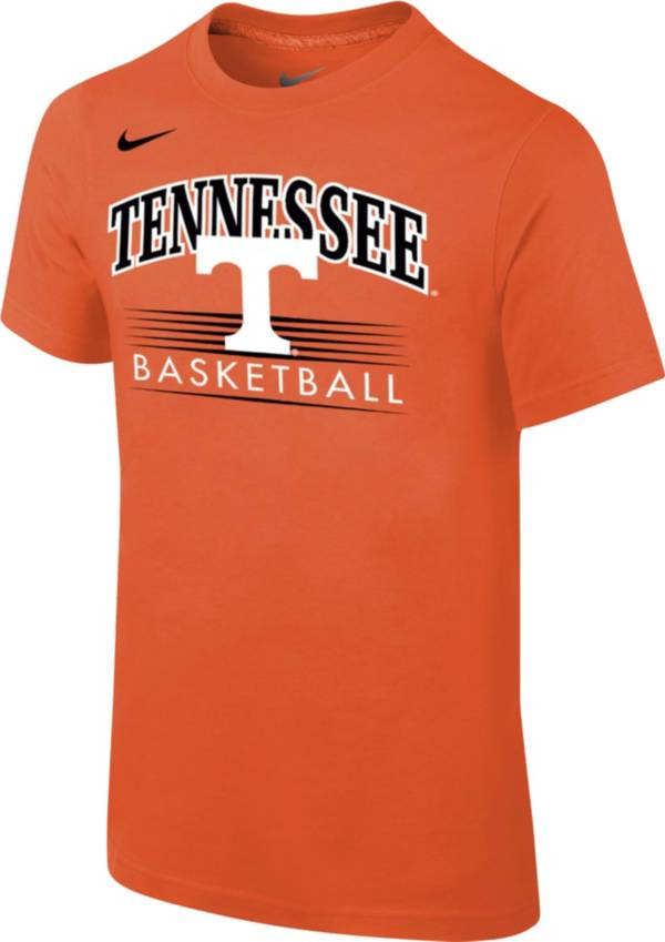 Nike Youth Tennessee Volunteers Tennessee Orange Cotton Basketball T-Shirt product image
