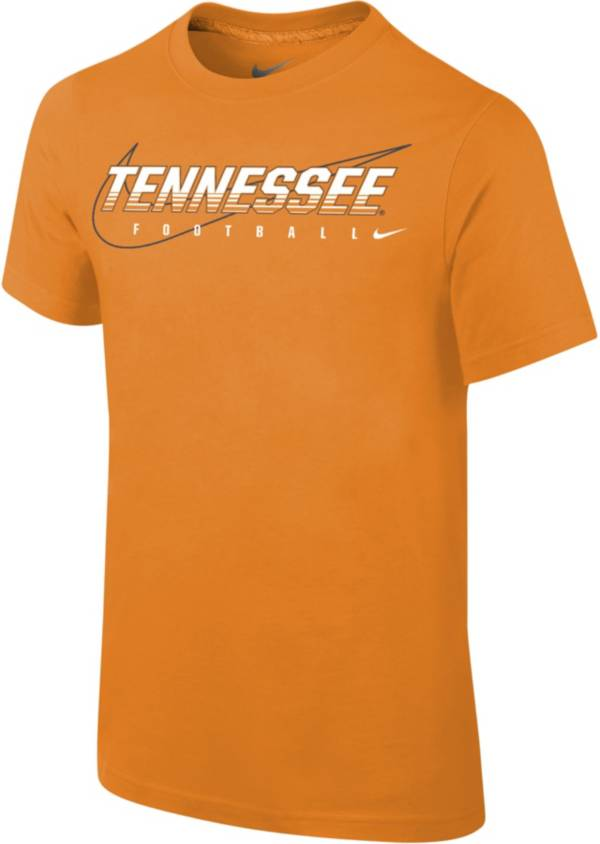 Nike Youth Tennessee Volunteers Tennessee Orange Football Dri-FIT Cotton Facility T-Shirt product image