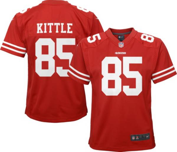 Nike Youth San Francisco 49ers George Kittle #85 Red Game Jersey product image