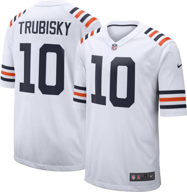 Nike Youth Chicago Bears Mitchell Trubisky #10 White Game Jersey product image
