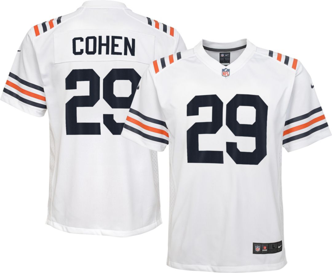 the latest 9601b 84a0a Nike Youth Alternate Game Jersey Chicago Bears Tarik Cohen #29