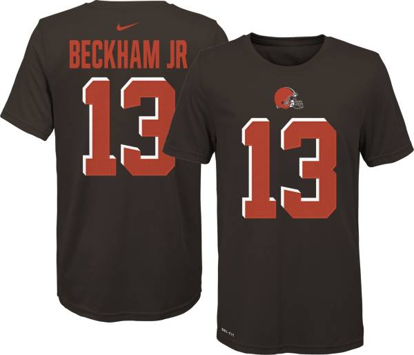 Nike Youth Cleveland Browns Odell Beckham Jr. #13 Pride Brown T-Shirt product image