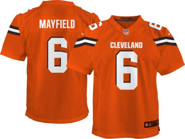 Nike Youth Alternate Game Jersey Cleveland Browns Baker Mayfield #6 product image