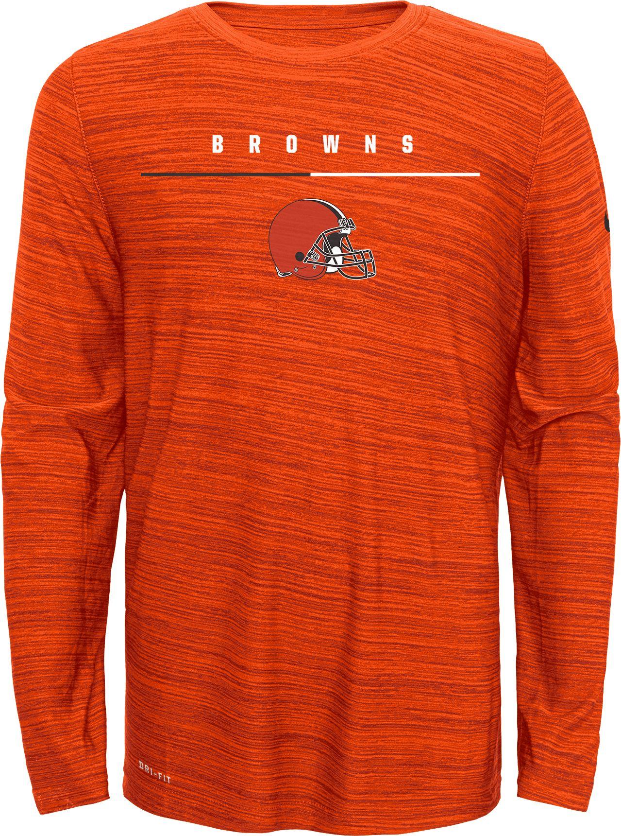 cleveland browns long sleeve shirt