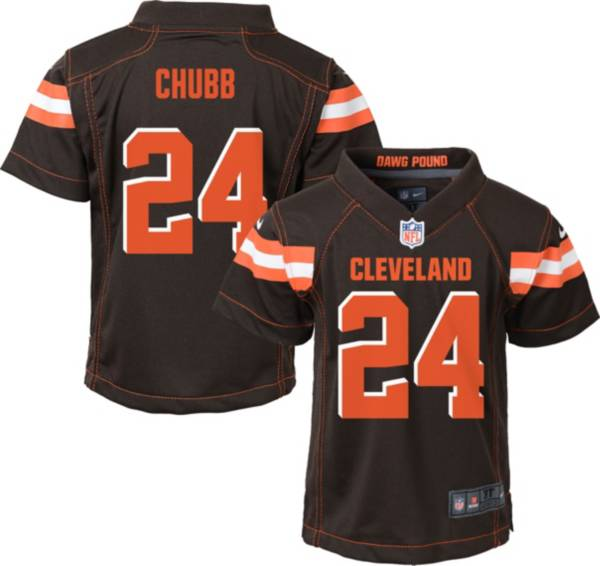 Nike Boys' Home Game Jersey Cleveland Browns Nick Chubb #24 product image