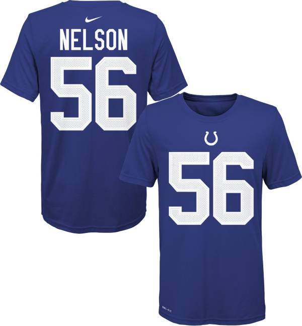 Nike Youth Indianapolis Colts Quenton Nelson #56 Logo Blue T-Shirt product image