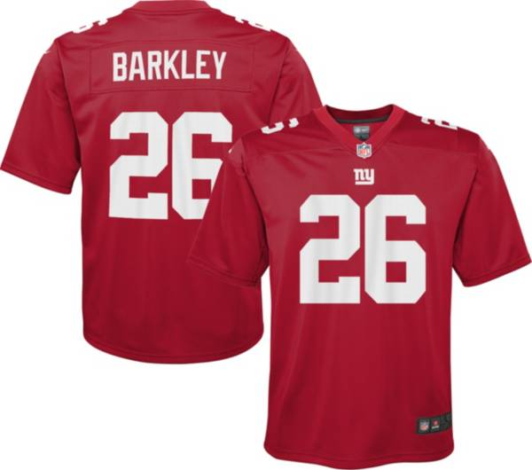 Nike Youth New York Giants Saquon Barkley #26 Red Game Jersey product image