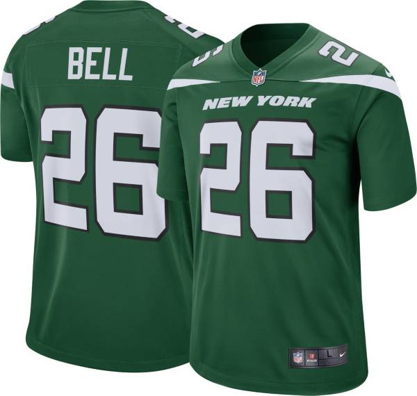 Nike Youth New York Jets Le'Veon Bell #26 Green Game Jersey