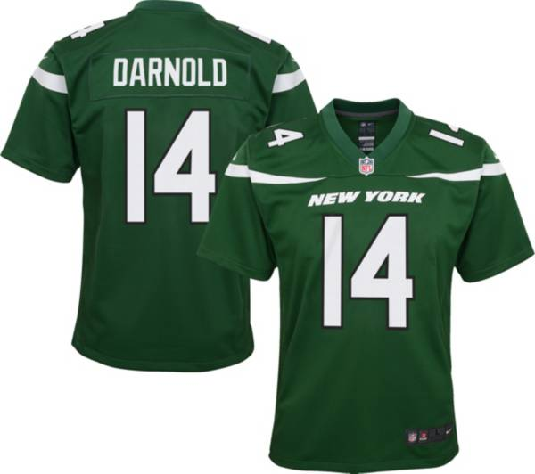 Nike Youth New York Jets Sam Darnold #14 Green Game Jersey product image