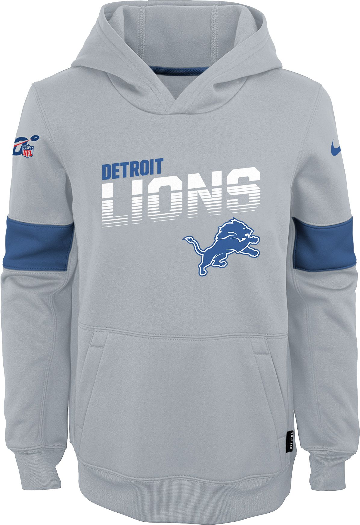 Detroit Lions 100th Sideline Therma-FIT