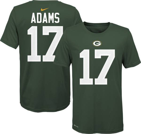 Nike Youth Green Bay Packers Davante Adams #17 Logo Green T-Shirt product image