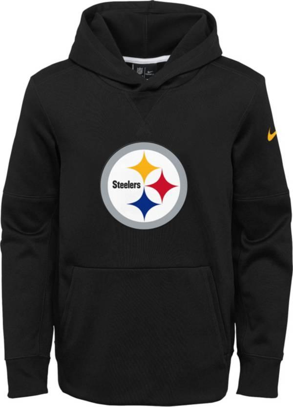 Nike Youth Pittsburgh Steelers Logo Essential Black Hoodie product image