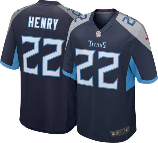 Nike Youth Tennessee Titans Derrick Henry #22 Navy Game Jersey product image