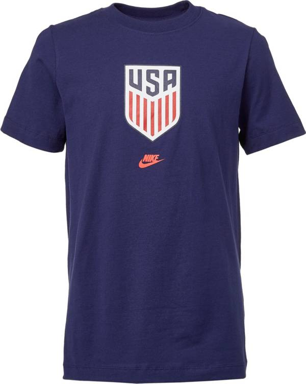 Nike Youth USA Soccer Crest Blue T-Shirt product image