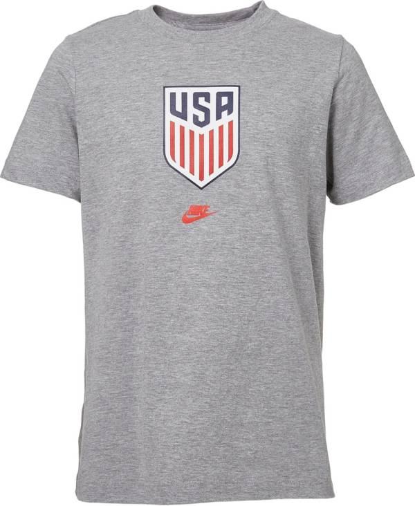 Nike Youth USA Soccer Crest Gray T-Shirt product image